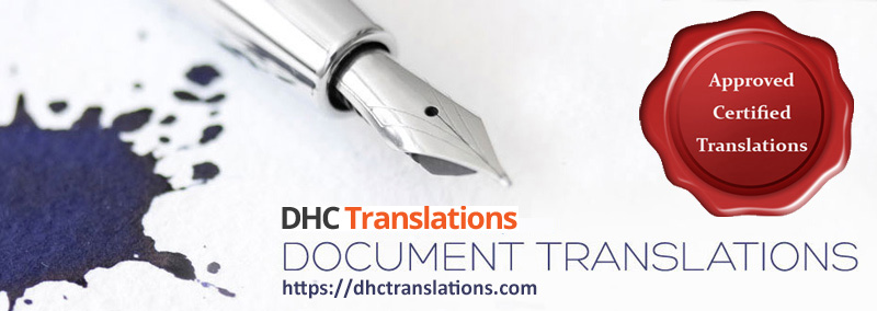 Certified Chinese Document Translation
